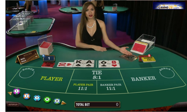 Online Baccarat – Play For Free or Real Money